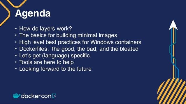 Creating Effective Docker Images Slide 2