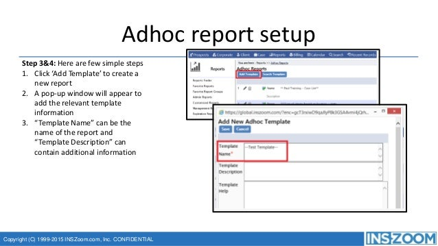 Creating email templates and adhoc reports ins zoom power user confe – Conference Report Template