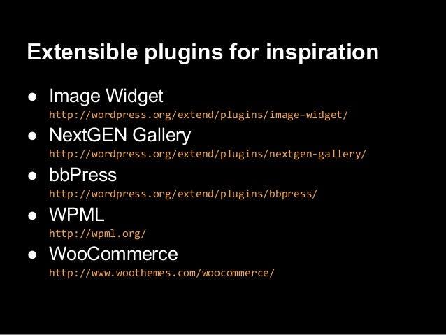 Extending NextGEN Gallery pluginwith custom templateDemo