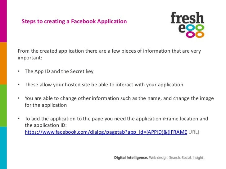 Creating facebook applications presentation ppt