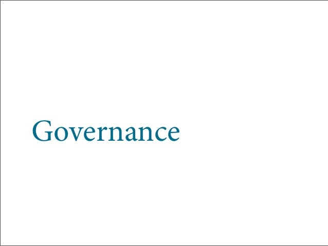 Governance CAN TOO Equal Flexibility Slide 2