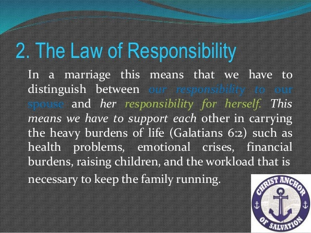 4. The Law of Respect If we wish our boundaries to be respected we must respect those of others For with the measure you...