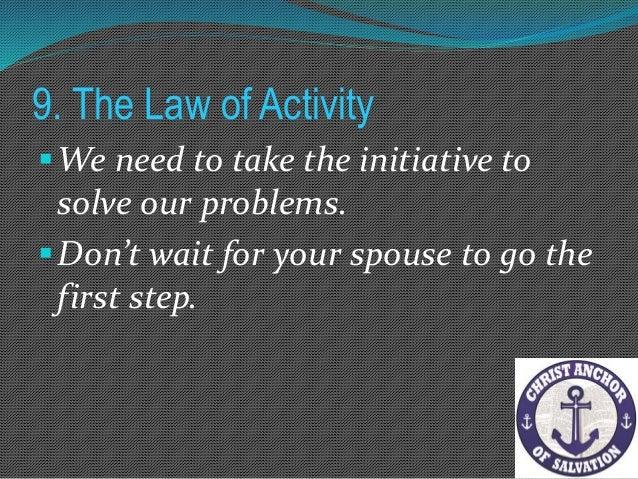 10. The Law of Exposure Matthew 5:6