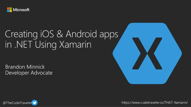@TheCodeTraveler https://www.codetraveler.io/THAT-Xamarin/