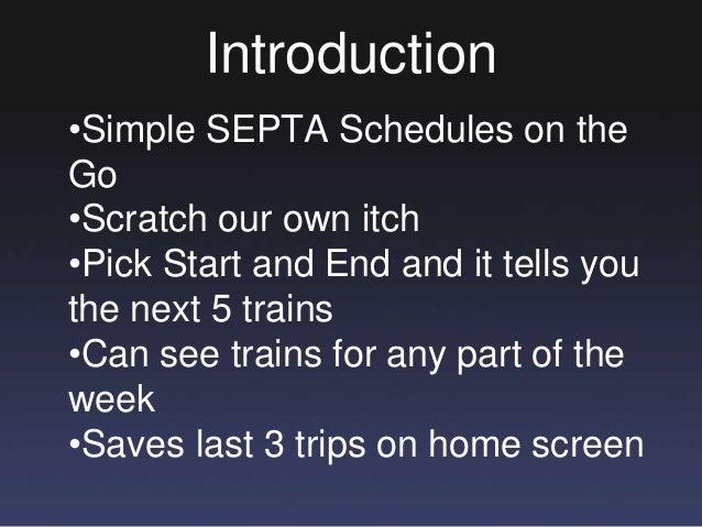 Creating iSepta Slide 2