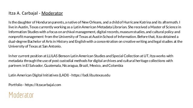 Creating Knowledges: A Discussion on the Significance of Gloria Anzaldúa and Archival Collections Slide 3