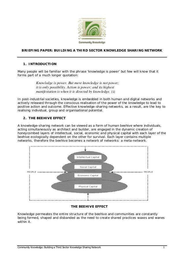 knowledge creation thesis Bachelor thesis – knowledge sharing knowledge  contents of knowledge  created by the four modes + knowledge spiral 18 figure 7.