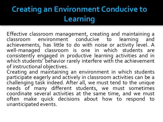 Creating Learning Environment Slide 3