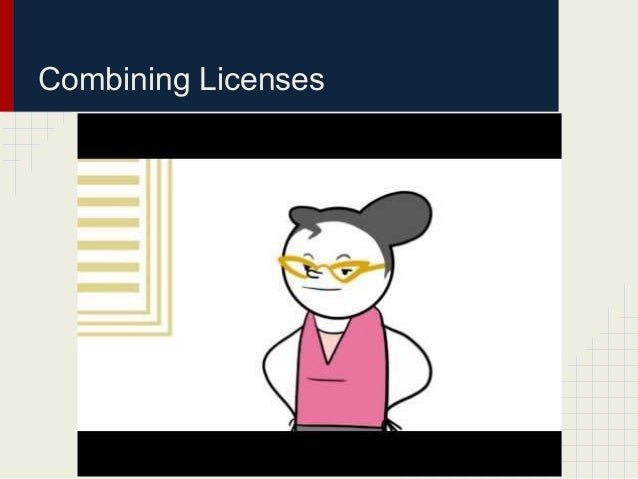 Combining Licenses
