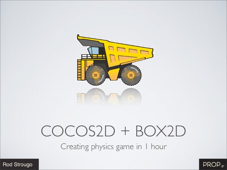 COCOS2D + BOX2D  Creating physics game in 1 hour