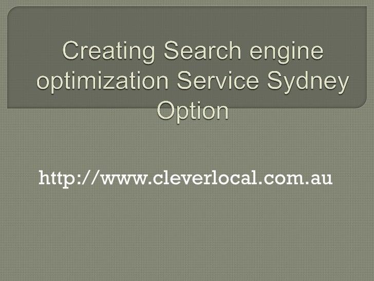 http://www.cleverlocal.com.au