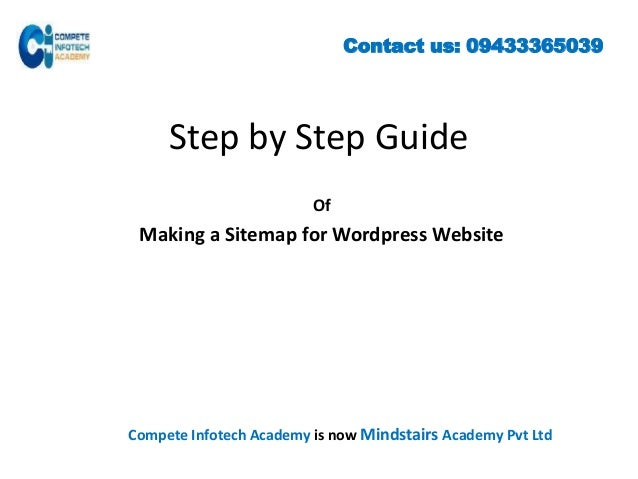 how to create an xml sitemap is an important topic of seo training in kolkata