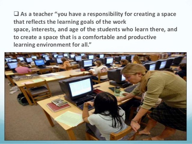 Creating supportive learning environment ppt