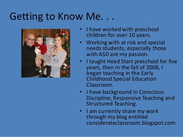 Those That Know Do Those That Understand Teach: Creating Systems For Success In A Early Childhood Special