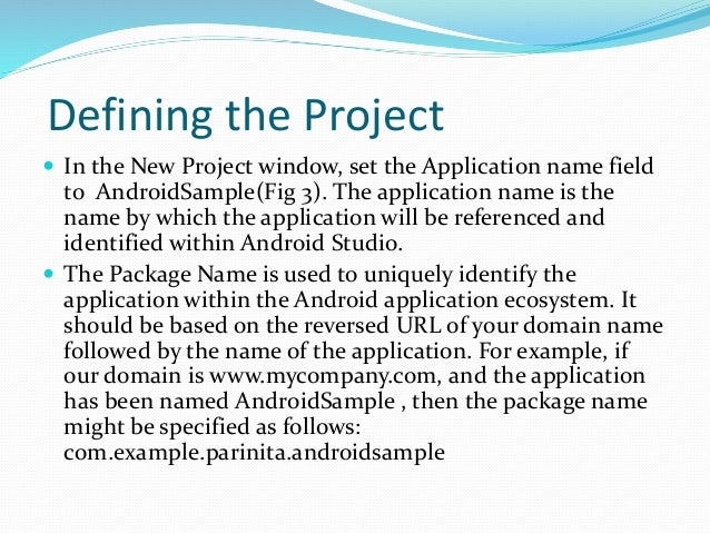 how to create first application in android studio