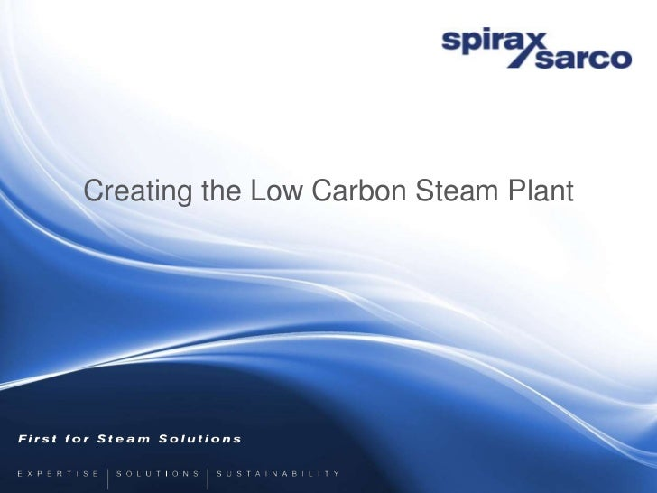 Creating the Low Carbon Steam Plant