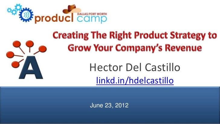 Hector Del Castillo                 linkd.in/hdelcastillo               June 23, 2012© AIPMM 2012