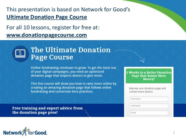How to Create the Ultimate Nonprofit Donation page