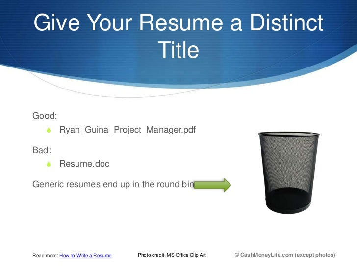 ultimate resumes