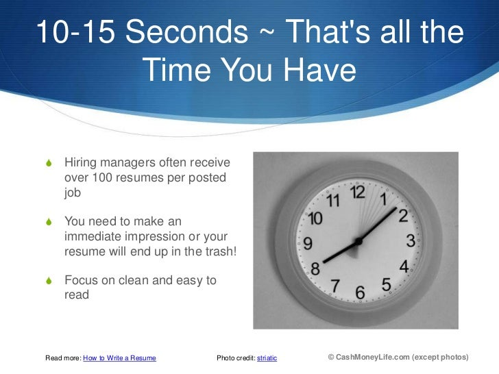 10 15 ...  10 Tips For Creating A Resume