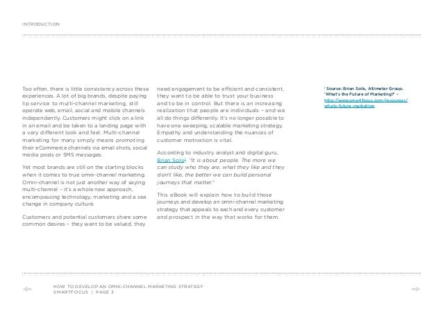 Creating truly personal omni-channel customer experiences by Brian Solis and Smartfocus Slide 3
