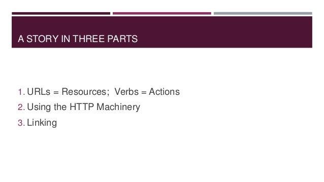 Creating Truly RESTful APIs Slide 2