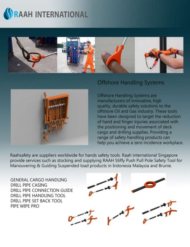 RaahSafety Offshore Handling Systems