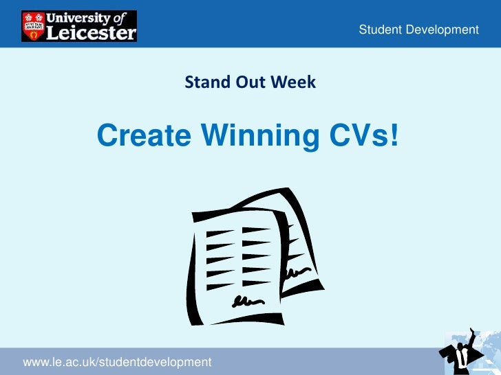 Stand Out Week<br />Create Winning CVs!<br />