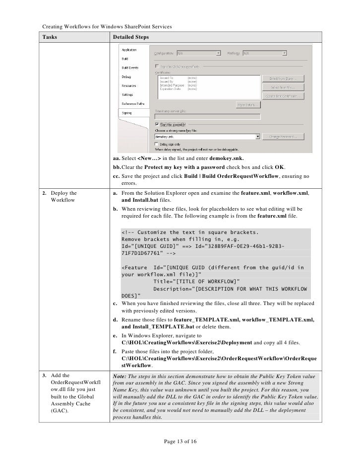 Lovely Workflow Templates Sharepoint 2010 Ideas - Examples ...