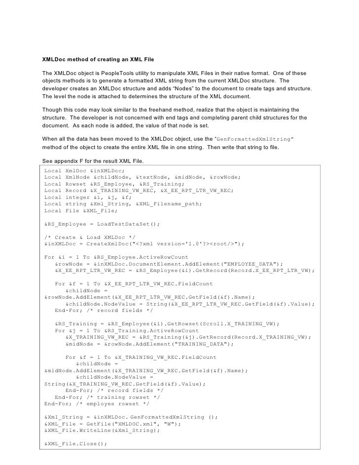 how to write xml Xml (extensible markup langue) đóng một vai trò quan trọng trong net không chỉ vì net cho phép bạn sử dụng xml trong các ứng dụng của bạn, mà bản thân nó cũng sử dụng xml cho những file cấu hình và tài liệu mã.