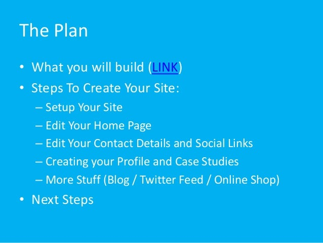 Create your own Website quickly for free for IT beginners no Code
