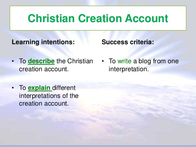 the genesis account of creation myth Question: my pastor claims that the first 11 chapters of the book of genesis are  just a myth he says that the story of creation, adam and eve,.