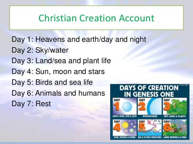 The Genesis Creation Story