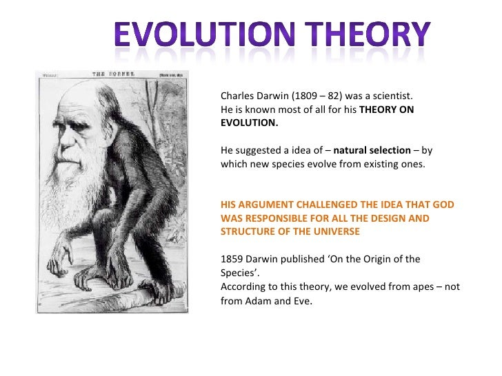 an overview of the holes in the theory of evolution by charles darwin An overview of evolutionary biology chapter summary charles darwin's theory of evolution by natural selection produced a paradigm shift in the life sciences.