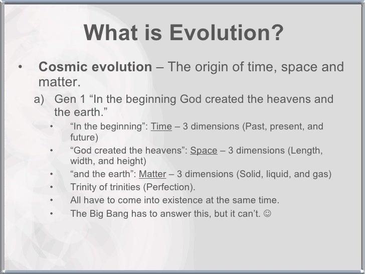 essays on evolution vs creation Free essay: since the beginning of the human race there has been a lingering question as to the origins of man and how all living things acquired their.