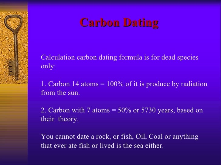 Carbon dating formula calculator-in-Rakeya