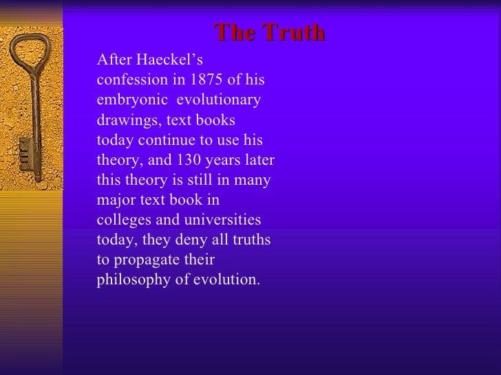 Creationism Vs Evolution - Evolution visual effects last 130 years