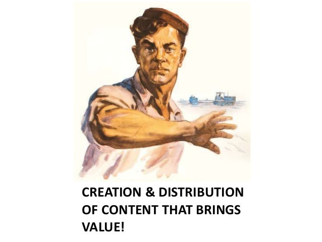Stahl wie Stahl 2015 CREATION & DISTRIBUTION OF CONTENT THAT BRINGS VALUE!