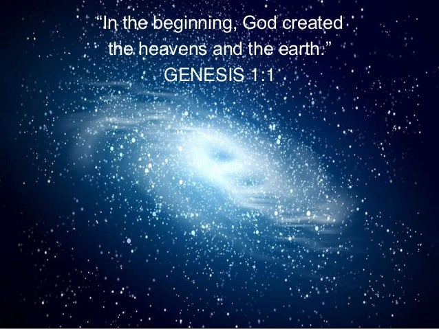 Creation To Eternity