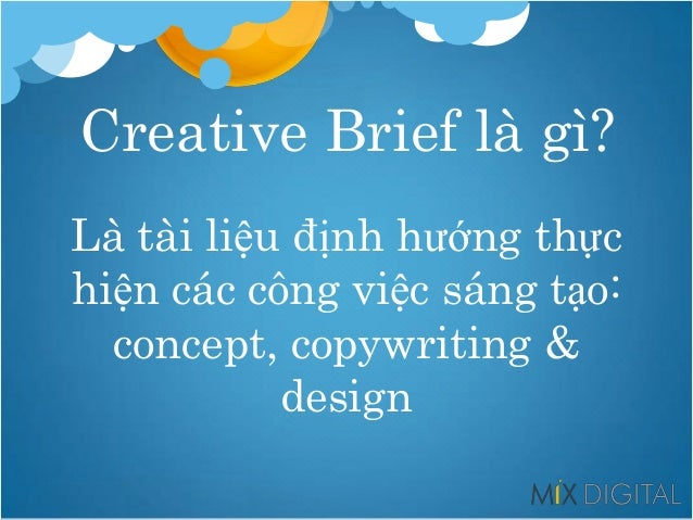 Tìm hiểu về Creative Brief Slide 2