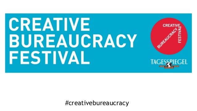 #creativebureaucracy