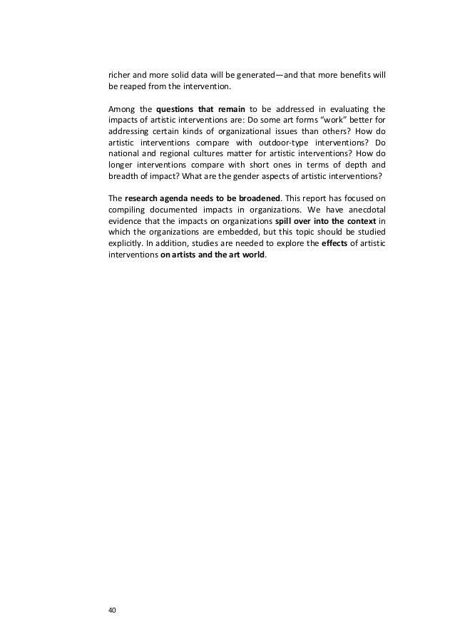 40richerandmoresoliddatawillbegenerated—andthatmorebenefitswillbereapedfromtheintervention.Among the...