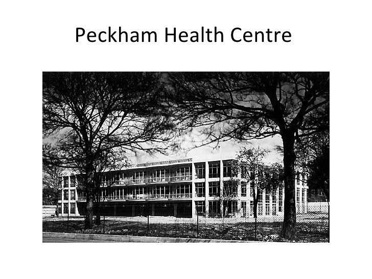Peckham Health Centre