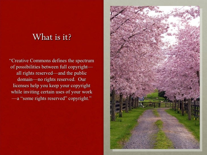 Creative Commons Slide 3