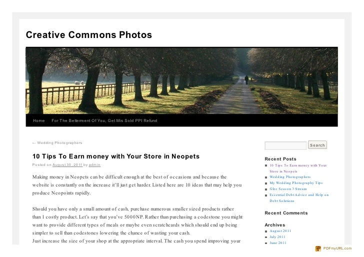 Creative Commons Photos Home      For The Betterment Of You, Get Mis Sold PPI Refund ← Wedding Pho to graphers            ...
