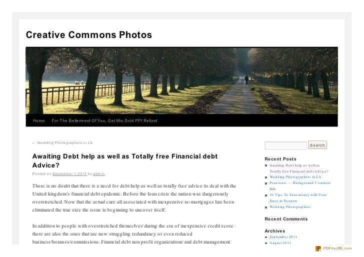 Creative Commons Photos Home      For The Betterment Of You, Get Mis Sold PPI Refund ← Wedding Pho to graphers in LA      ...