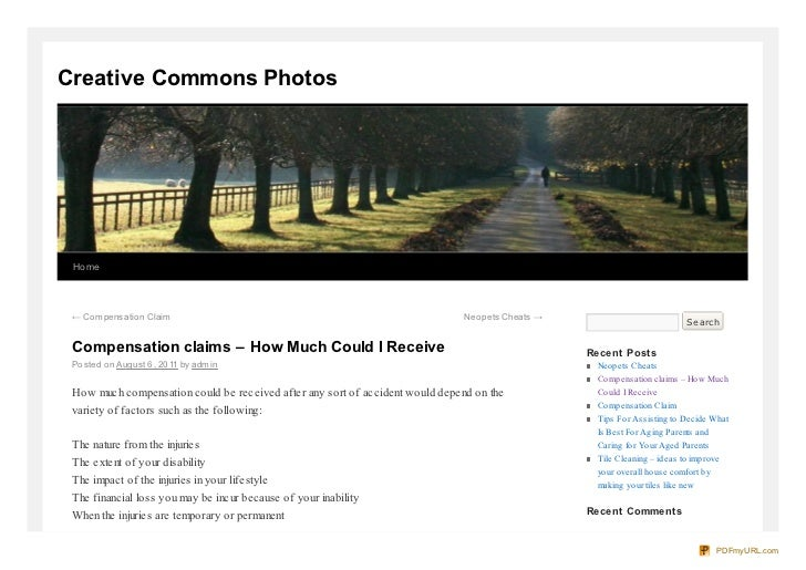 Creative commons-photo com-compensation-claims-how-much