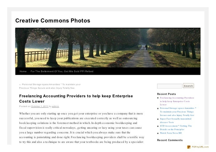Creative Commons Photos Home      For The Betterment Of You, Get Mis Sold PPI Refund ← Perso nal Sto rage space Amenities ...