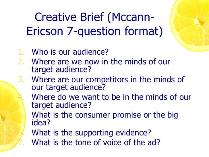 Creative Message Strategies