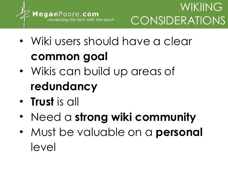 Wikis, blogs and podcasts in class